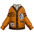 S Gear Clothing Orange Cardigan.png