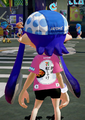 Red Salmon Onigiri Splatfest Tee back.png