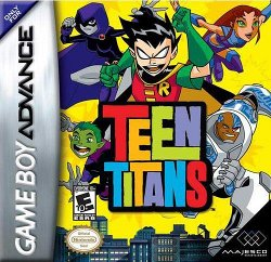 Box artwork for Teen Titans.