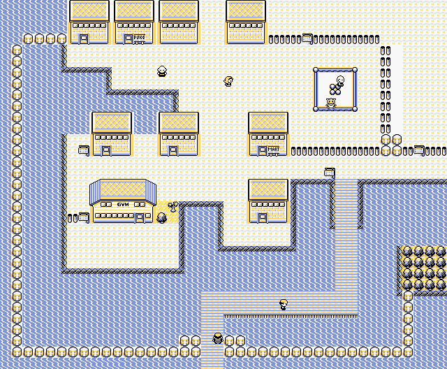 Pokemon Blue Ss Anne Your Room
