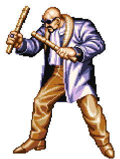 Art of Fighting/Characters/MrBig — StrategyWiki, the video game ...