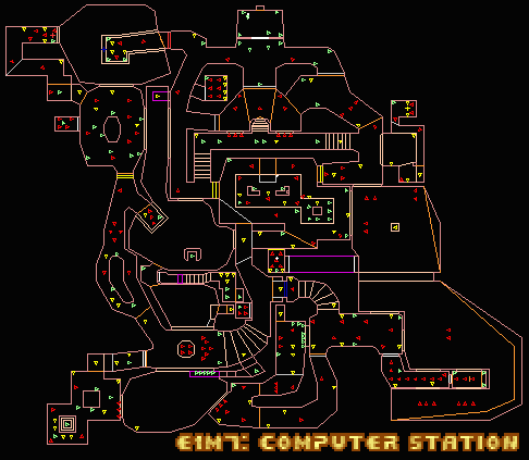 Doom/E1M7: Computer Station — StrategyWiki, the video game walkthrough and strategy guide wiki
