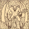 Ultima III enemy gargoyle.png
