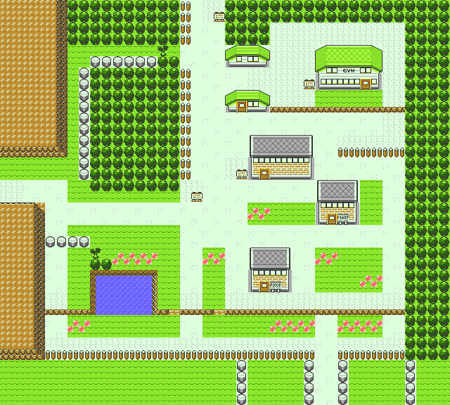 Pokemon GSC map Viridian City.png
