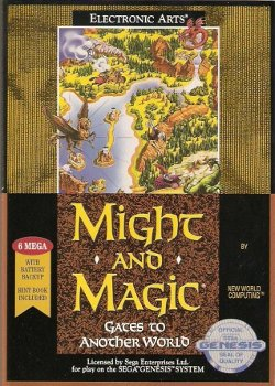 Box artwork for Might and Magic II: Gates to Another World.