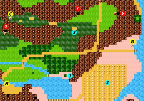 Zelda II: The Adventure of Link/Midoro Palace — StrategyWiki, the ...