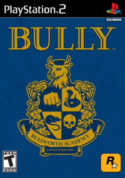 Box artwork for Bully.