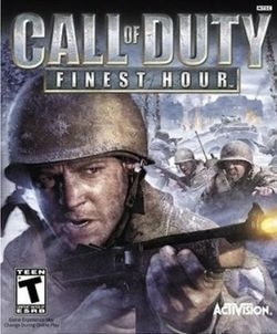 Box artwork for Call of Duty: Finest Hour.