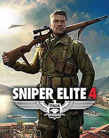 Box artwork for Sniper Elite 4.