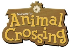 The logo for Animal Crossing.