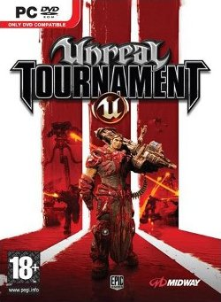 Box artwork for Unreal Tournament 3.
