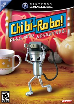 Box artwork for Chibi-Robo!.