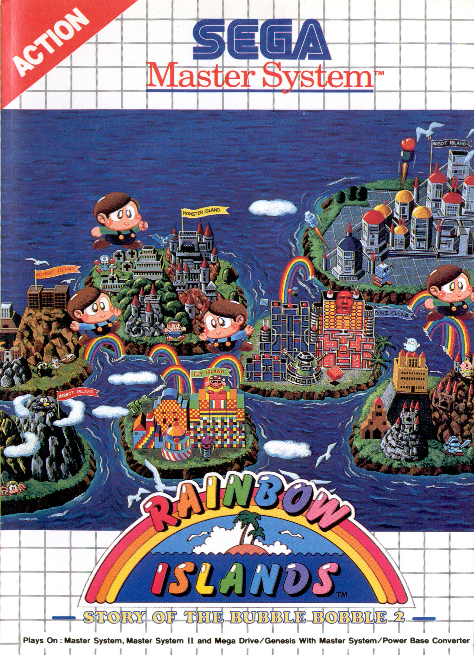 Rainbow Islands Master System Review