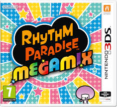Box artwork for Rhythm Heaven Megamix.