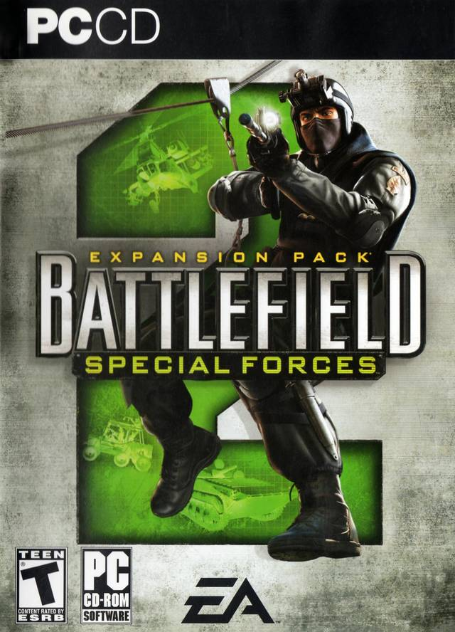 Box artwork for Battlefield 2: Special Forces.