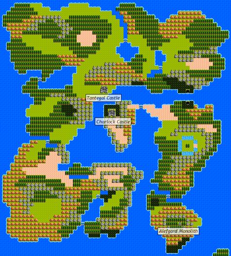 Dragon Warrior Ii Alefgard Strategywiki The Video Game