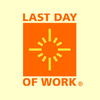 Last Day of Work's company logo.