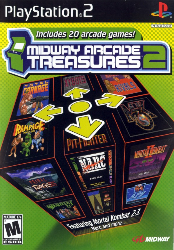 Midway Arcade Treasures 2 Strategywiki The Video Game