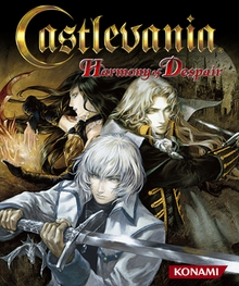 Box artwork for Castlevania: Harmony of Despair.