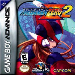 Box artwork for Mega Man Zero 2.