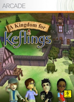 Box artwork for A Kingdom For Keflings.
