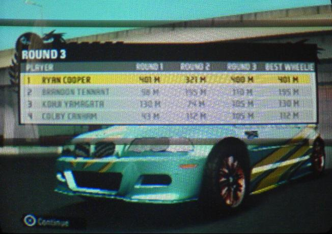 codes for nfs pro street