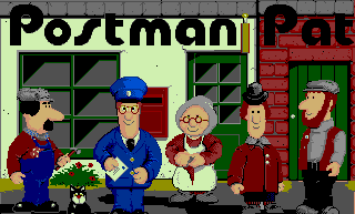 Postman Pat The Computer Game title screen (Commodore Amiga).png