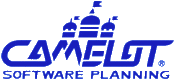 Camelot Software Planning's company logo.