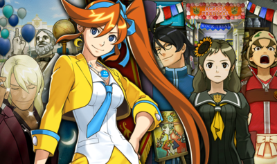 Phoenix Wright Ace Attorney Dual Destinies Episode 3 Turnabout