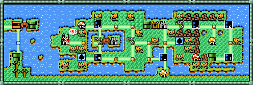 Super Mario Bros  3/World 4 Part 2 — StrategyWiki, the video game