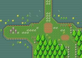 Secret of Mana map Water Palace path.png