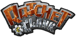 The logo for Ratchet & Clank.