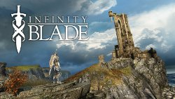 Box artwork for Infinity Blade.