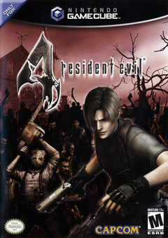 Box artwork for Resident Evil 4.