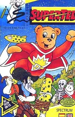Box artwork for SuperTed: The Search for Spot.
