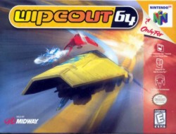 Box artwork for Wipeout 64.