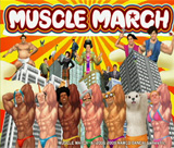 Box artwork for Muscle March.