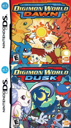 Box artwork for Digimon World: Dawn and Dusk.