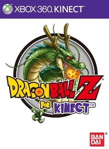 Box artwork for Dragon Ball Z for Kinect.