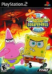 Box artwork for The SpongeBob SquarePants Movie.