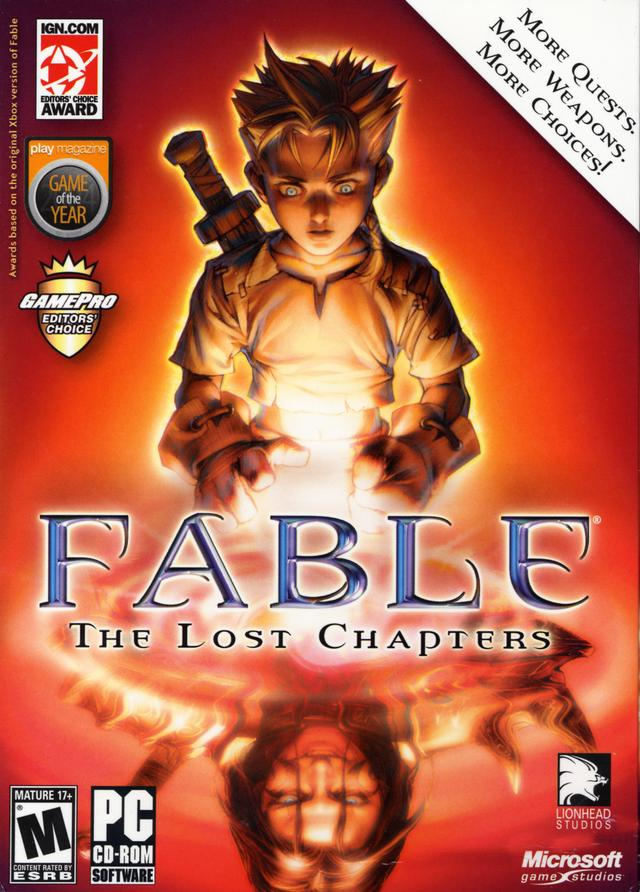 Fable: The Lost Chapters — StrategyWiki, the video game walkthrough