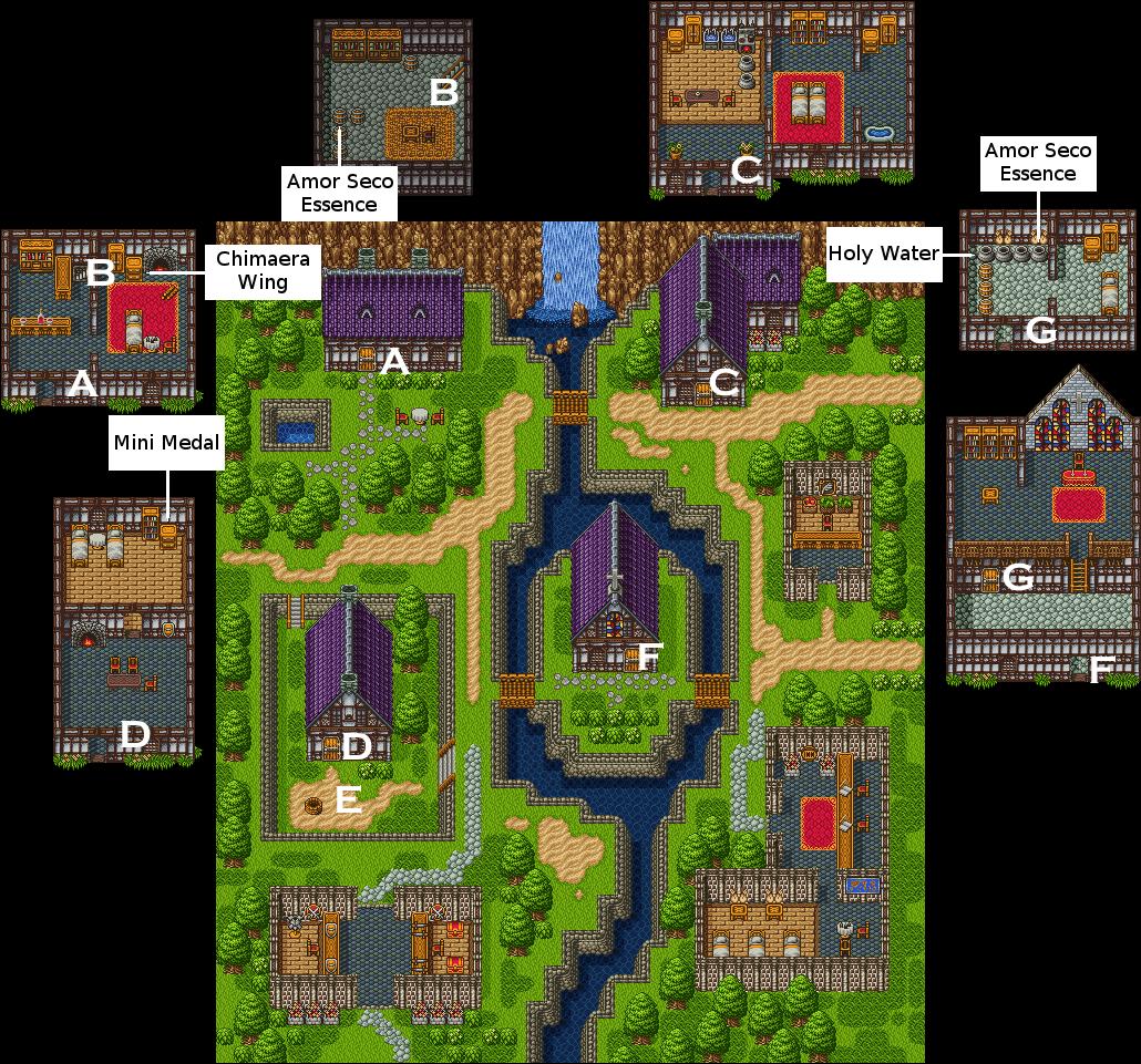 Dragon Quest VI: Realms of Revelation/Amor — StrategyWiki