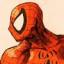 Spider Man portrait by