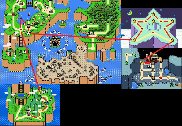 Super Mario World Beating The Game In 12 Levels Strategywiki The