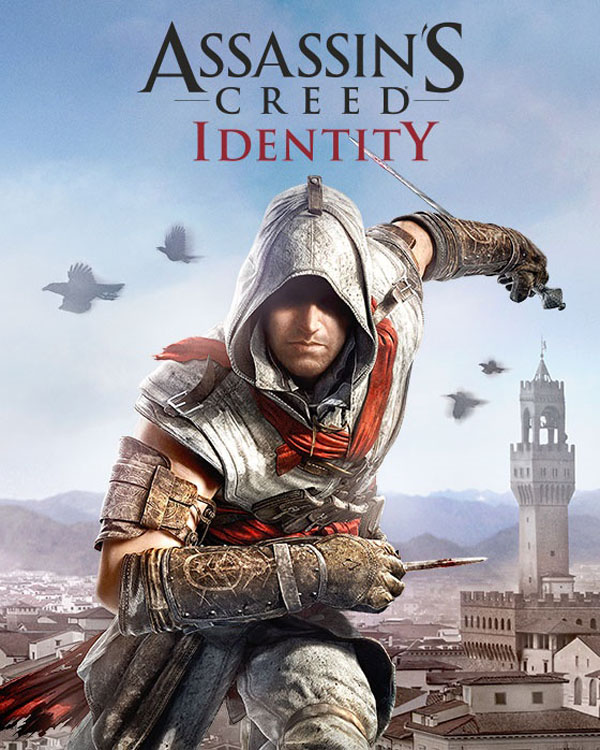 Box artwork for Assassin's Creed: Identity.