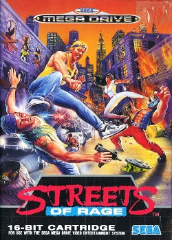 Box artwork for Streets of Rage.