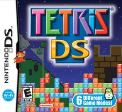 Box artwork for Tetris DS.