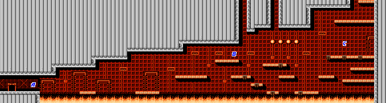 Bionic Commando NES map Area11a.png