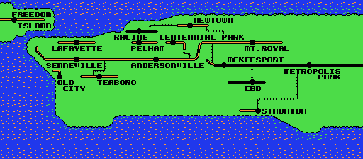 Superman NES Metropolis map.png
