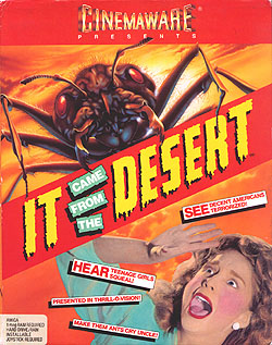 Box artwork for It Came from the Desert.